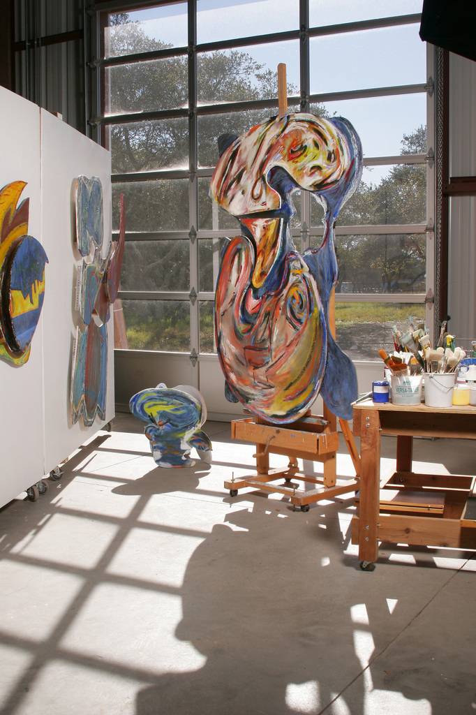 Robert Oblon Studio - Abstract Art - Central Coast California