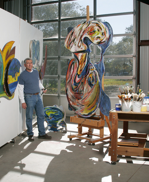 : Not Combines Series : Robert Oblon Studio - Abstract Art - Central Coast California